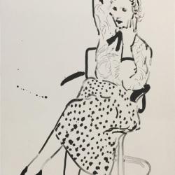 Celia in a Polka…
