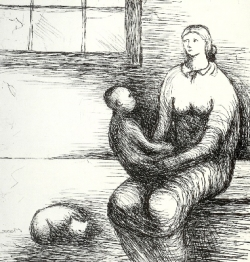 Mother and Child IX